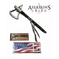 FULL SIZE ASSASSIN'S CREED VIDEO GAME TOMAHAWK HATCHET CONNOR'S HEAVY BATTLE AXE